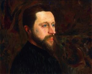 Ernest-Joseph Laurent, Portret Georges'a Seurata, ok. 1890