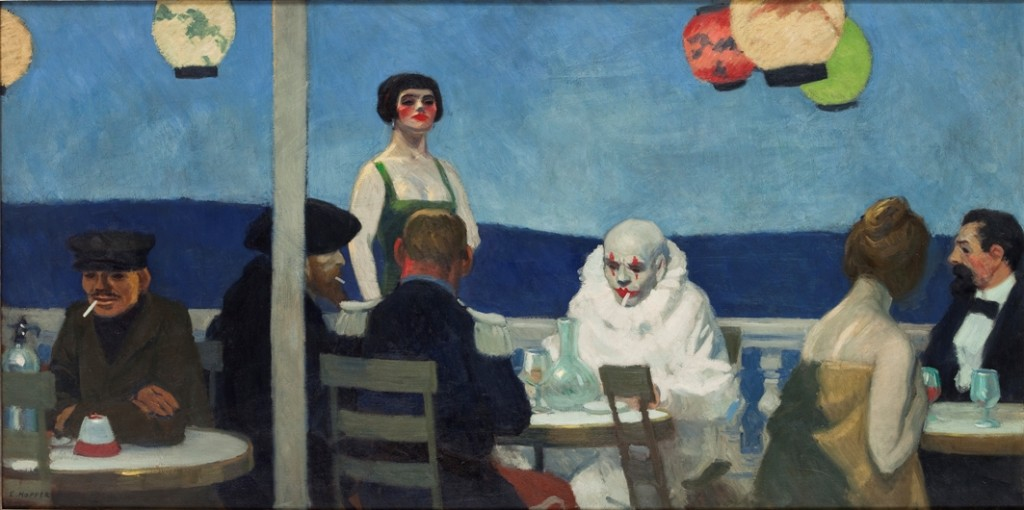 Soir bleu, 1914