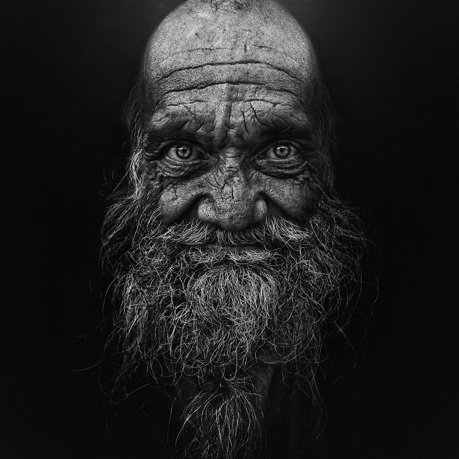 Lee Jeffries homeless people
