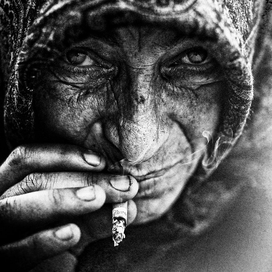 Homeless People Portraits Photography By Lee Jeffries: Lee Jeffries / Artophilia