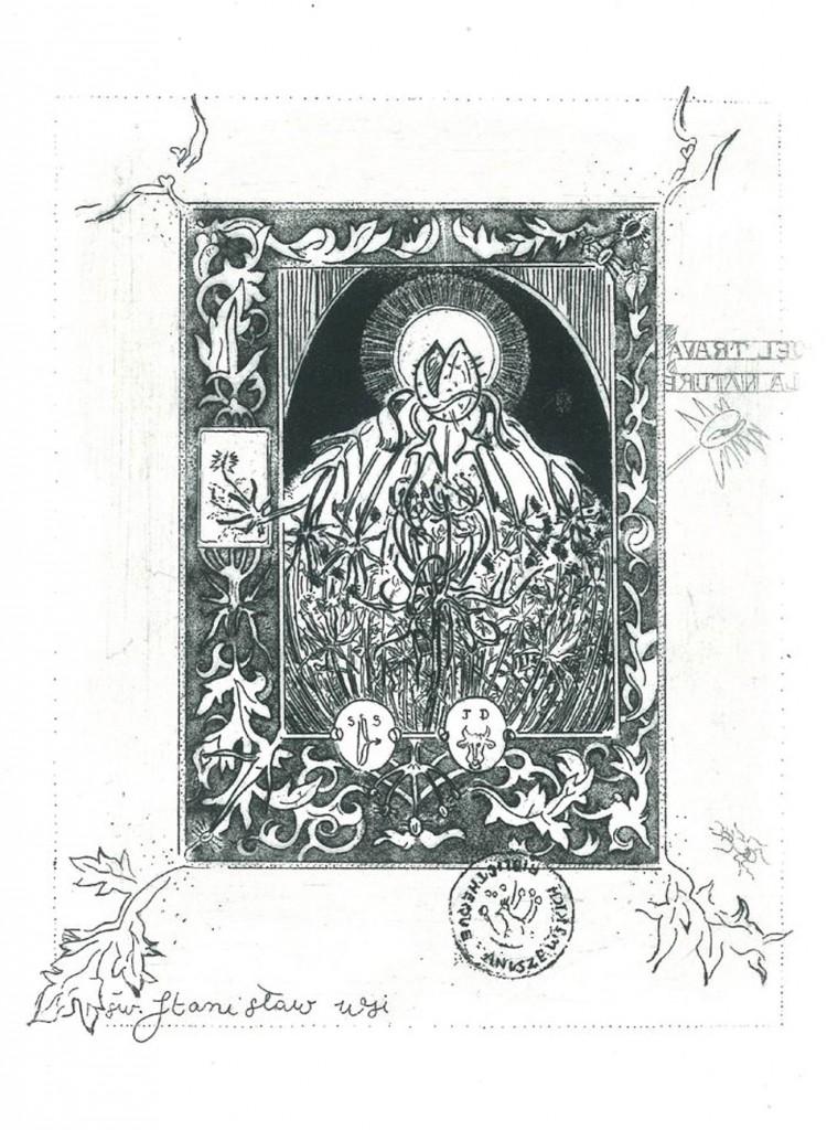 11 AHAnuszewska, Wspomnienie Polski (Koper), akwaforta, 12,6 x 9,2 cm