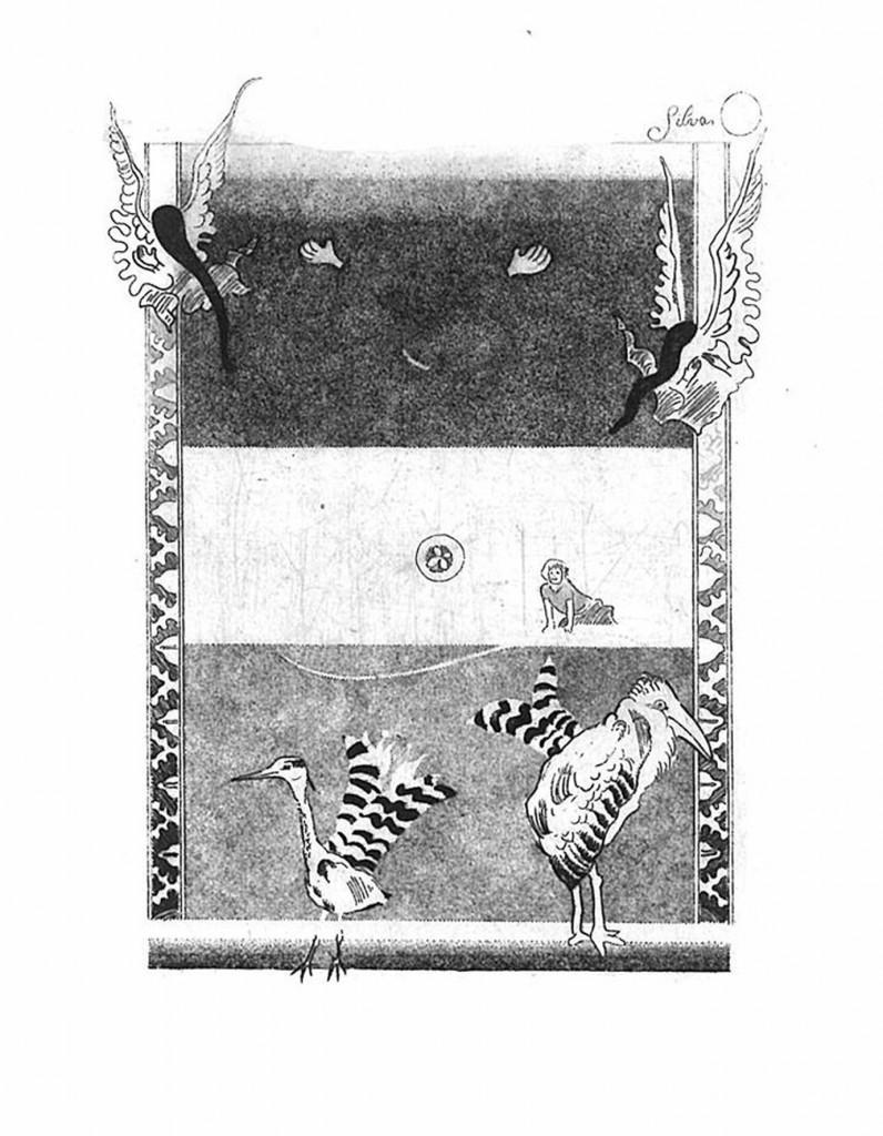13 AHAnuszewska, Rex rerum, akwaforta, 12,6 x 10,2 cm