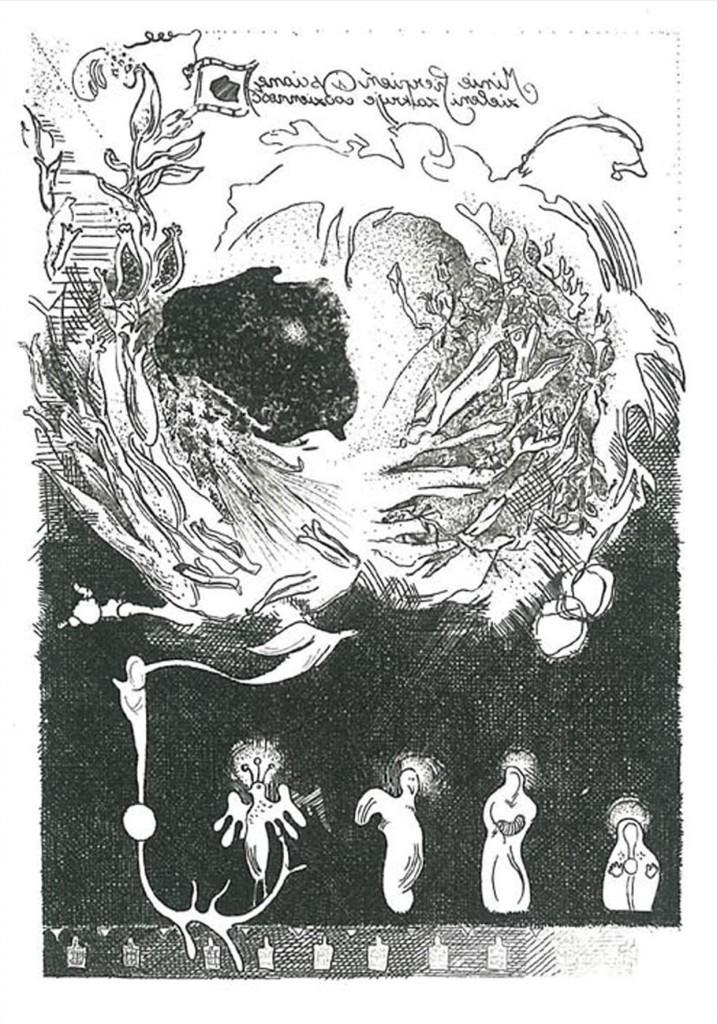 9 AHAnuszewska, Serce Europy, akwaforta, 12,6 x 8,6 cm