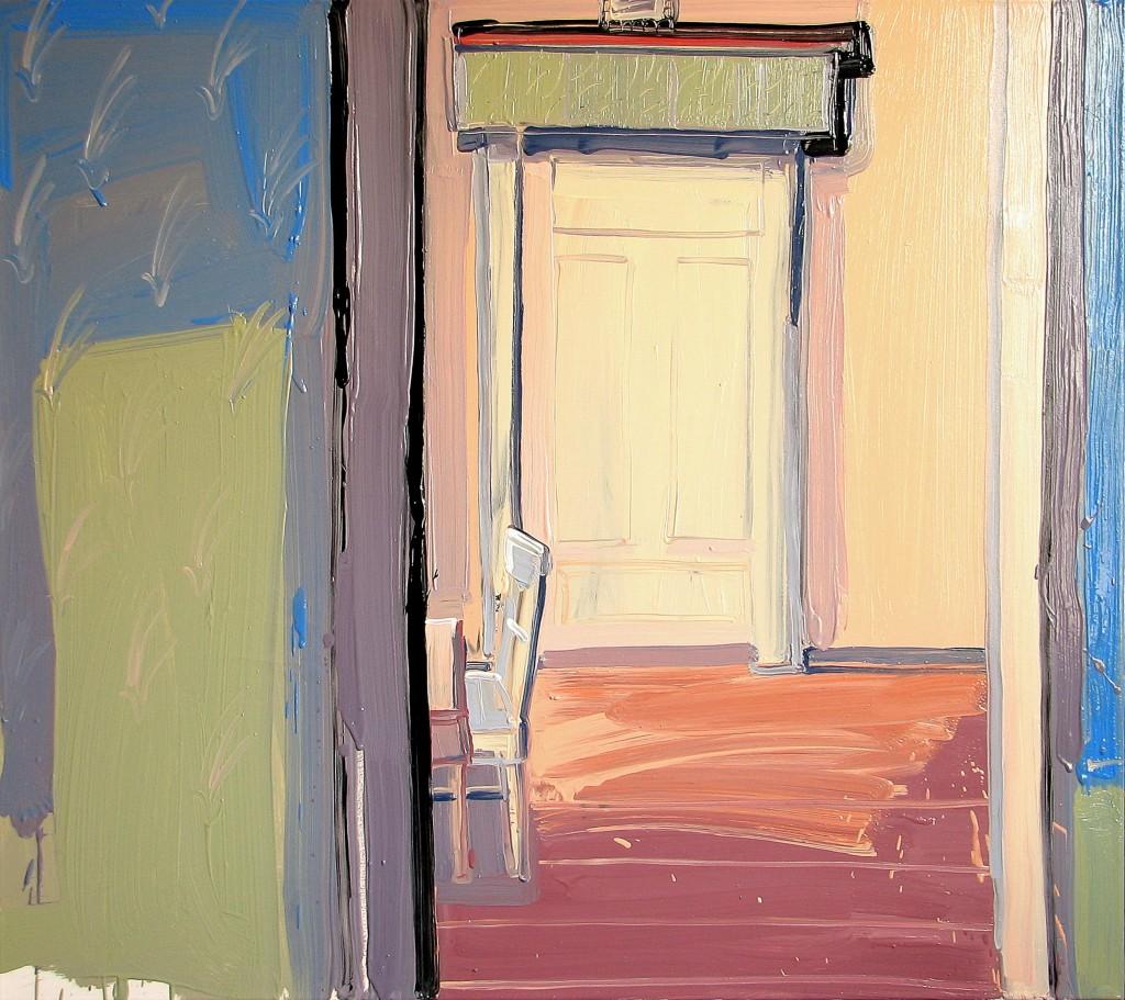 'Ściana, drzwi I. zostańcie z Bogiem'