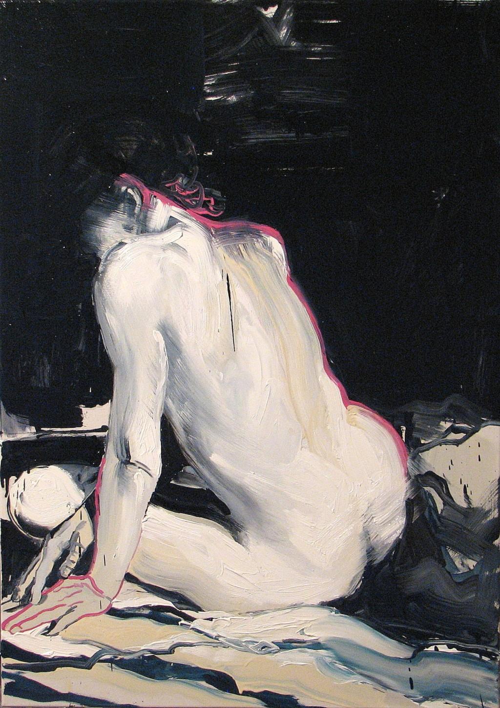 'Blaski i cienie', 2014, 100x71 cm, olej na płótnie