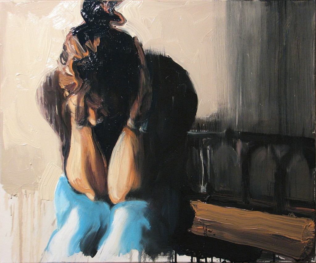 'O matko jedyna', 2014, 75x90 cm, olej na płótnie