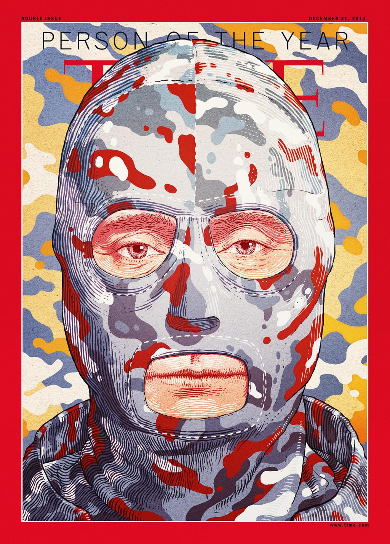 Bartosz Kosowski ilustration the time Putin gold awards niezła sztuka