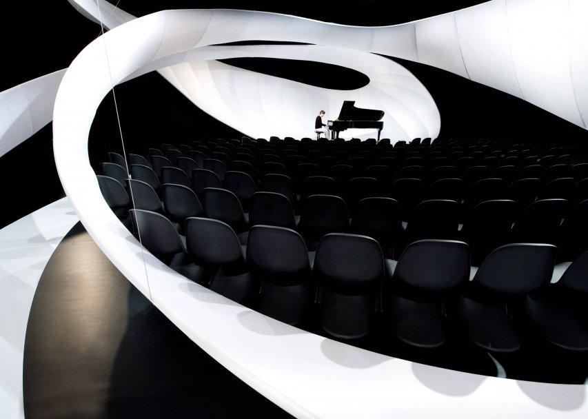 Zaha Hadid Bach Pavillion fot. Piotr Anderszewski